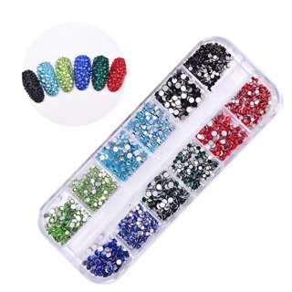 1 Deluxe Nail Art Jewels +5 Random Sheets Water Transfer Nail Decals (see pics)