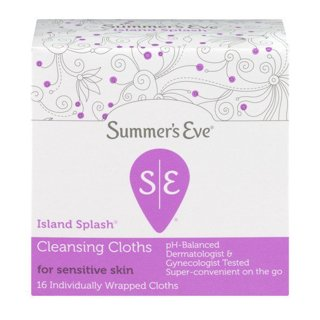 Brand New •2• Boxes Summer's Eve Cleansing Cloths Island Splash 16 Ct ea Box