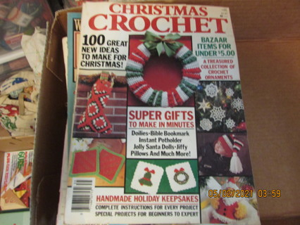 5 Crochet Christmas Magazines