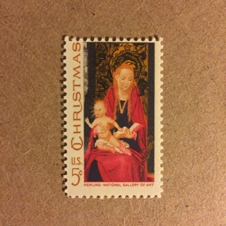 Christmas National Gallery of Art 5 Cent United States Postage Stamp ~ MNH!