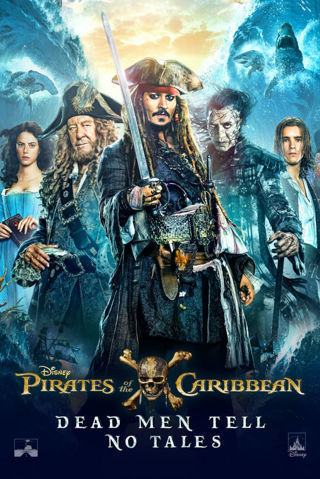 Pirates of the Caribbean Dead Men Tell No Tales (HDX) no points (Movies Anywhere) iTunes, Vudu