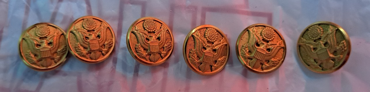Army military uniform buttons