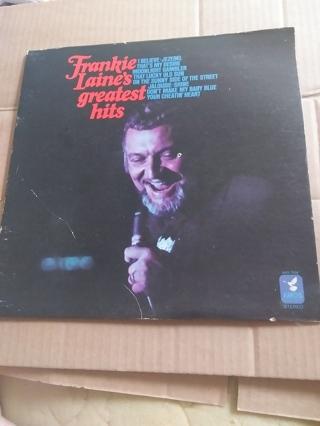Frankie Laine's Greatest Hits Record Album
