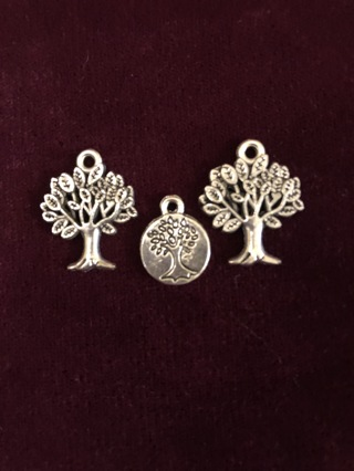 3 Tree Charms
