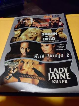 4 pack DVD combo