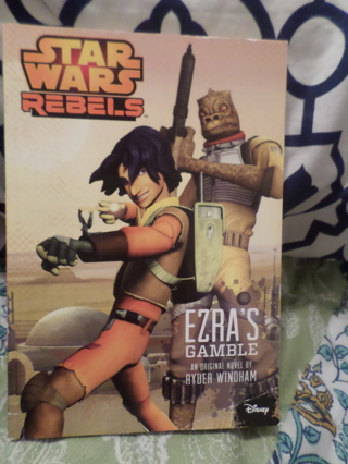 Star Wars Rebels Ezra's Gamble Book