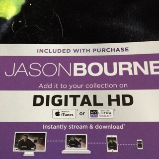 Jason Bourne digital code