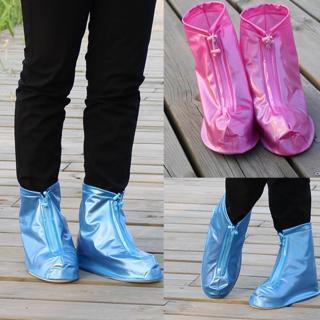 Waterproof Protector Shoes Boot Cover Unisex Zipper Rain Shoe