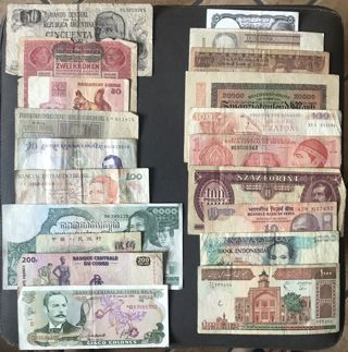 World Paper Money & Currency Lot #220