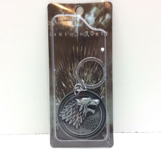 Game Of Thrones Winter Coming Keychain -NEW