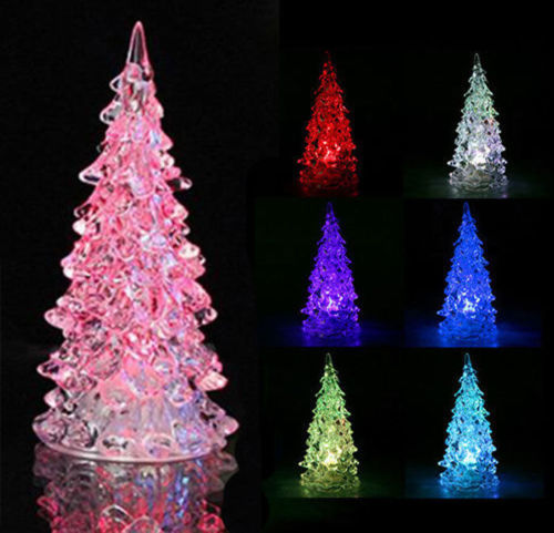 "Christmas Tree Auction: Free: Set Of 2 Mini 3"" LED Christmas Trees"