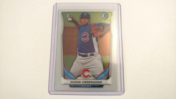 Duane Underwood - 2014 Bowman Chrome Prospects Rookie #BCP64 - Chicago Cubs