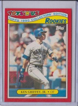 Free Ken Griffey Jr Rookie Card 1990 Toys R Us Topps