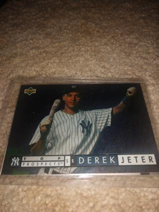 2 Card lot baseball Derek Jeter New York Yankees veteran  shortstop