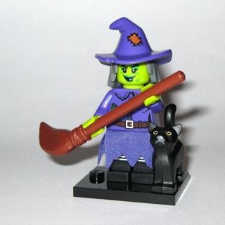 New Wacky Witch Minifigure Building Toy Custom Lego