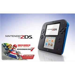 NEW, Nintendo 2DS with Mario Kart 7 Game Electric Blue NEW SEALED!
