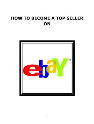 I will show you how to get back on  ebay after being suspended guide ebook