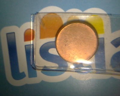 Free: Blank Penny Planchet – Type II Rare Mint Error - Coins
