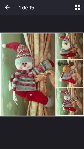 Christmas Curtain Buckle