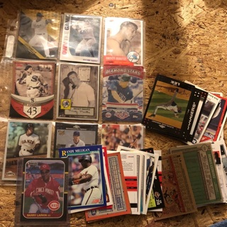 10 random baseball cards