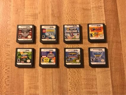 Ten (10) Nintendo DS Games