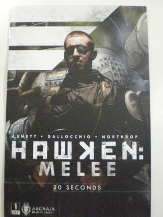 Hawken Melee #1 NM Archaia Comic