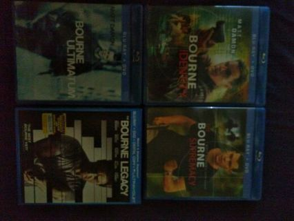 All for Jason Bourne movies