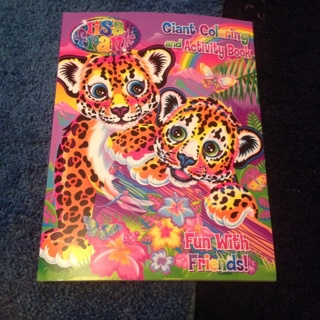 New Lisa frank coloring book