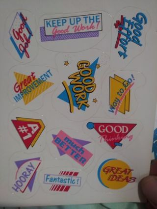 One sticker sheet No refunds! Good quality! Lowest gins selling out!
