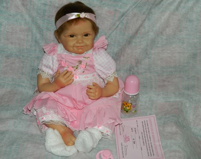 Brand New~High Quality Reborn Baby Doll Comes With Extras!!!
