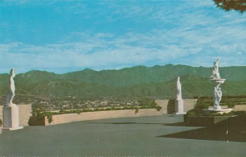 Vintage Unused Postcard: Sierra Madre Mountains, Glendale, CA