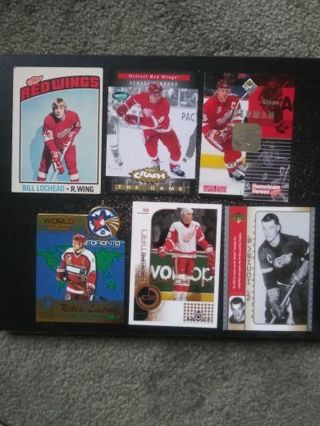 '70's-90's NHL Red Wings (Lochead, Fedorov, Yzerman, Lidstrom, Howe)