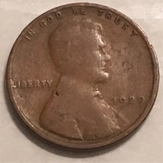 1929 wheat cent