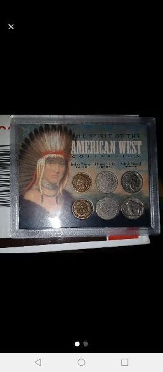 AMERICAN WEST COIN COLLECTION SET BRAND NEW WITH CERTIFICATE OF AUTHENTICITY