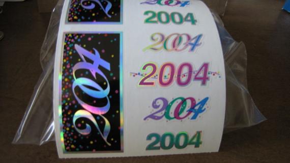 2004 Mrs. Grossman's Stickers