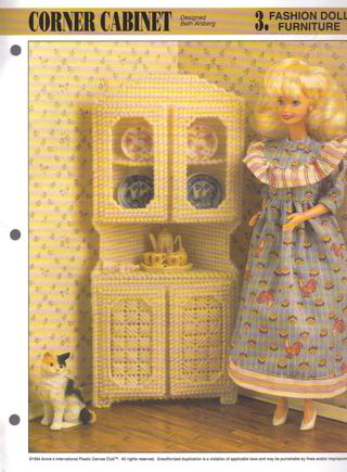Free 2 Fashion Doll Furniture Plastic Canvas Patterns Other Craft Items Auctions