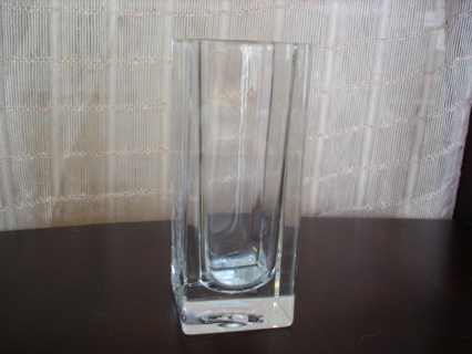 Mikasa Lead Crystal Mini Vase
