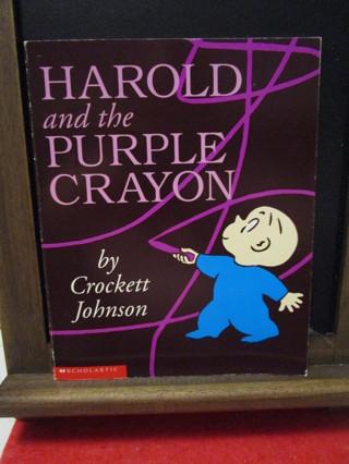 Harold And The Purple Crayon - by Crockett Johnson