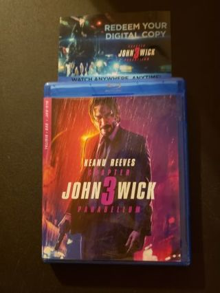 John wick 3 digital copy