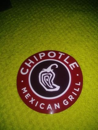 "❤✨❤✨❤️BRAND NEW ""CHIPOTLE"" STICKER❤✨❤✨❤"