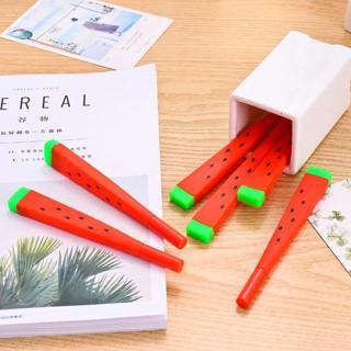 1 Pcs Cute Kawaii watermelon Gel Pen Writing Signing Pen School Office Supply Student Stationery R