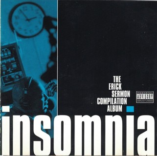 Various - Insomnia: The Erick Sermon Compilation Album (CD, 1996) Hip-Hop Rap with GIN!
