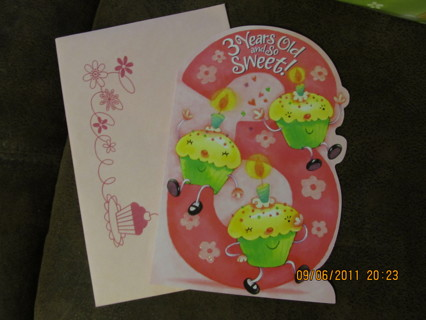 Free Birthday Card For 3 Yr Old Girl Gift Cards Listia