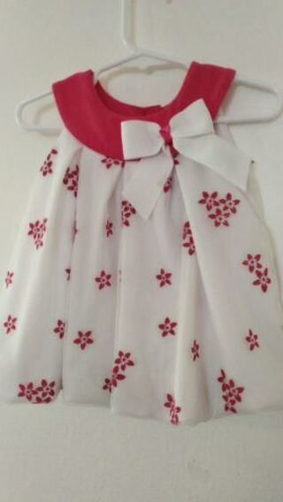 Like new baby girl size 18 months dress