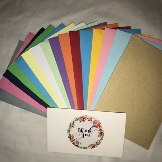 Thank You Cards w/ Mini Envelopes