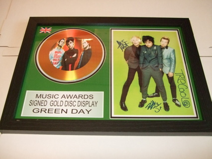 green day signed