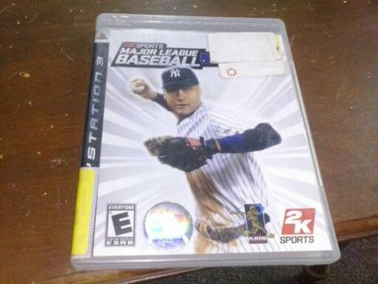 Baseball 2k7 ps3 with jeter on cover