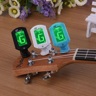 ENO ET33 LCD Digital Chromatic Clip on Guitar Tuner For Bass Violin Ukulele Clip