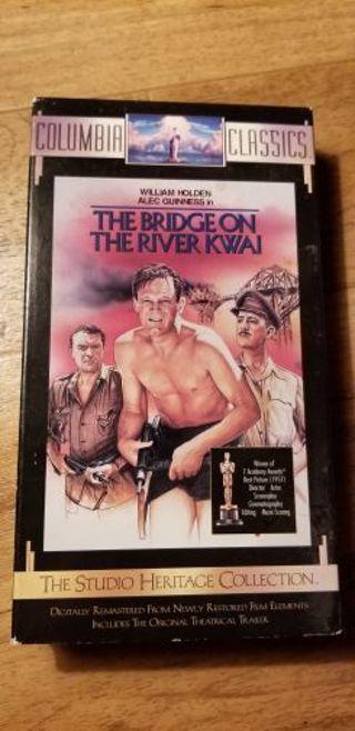 Bridge on the river Kwai VHS