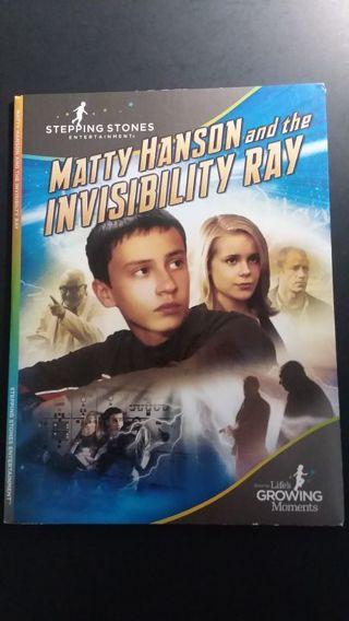 MATTY HANSON and the INVISIBILITY RAY! Family friendly movie!